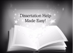Dissertation, Thesis & Essay Writing - 0507467084