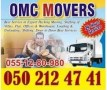 HOME PACKERS MOVERS SHIFTERS  0502124741 IN ABU DHABI