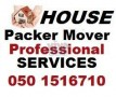 PROFESSIONAL HOUSE MOVERS PACKERS & SHIFTERS 050 1516710  KHALIFA CITY ABU DHABI