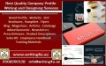 0508200128 Company Profile Writing Services in Abu Dhabi, UAE, GCC, Middle East