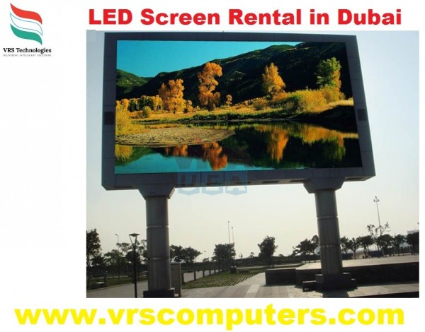 LCD Screen Lease for Events in Dubai UAE