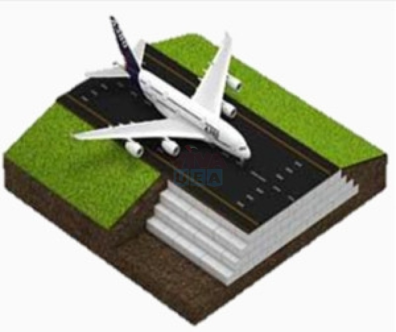High Quality Polystyrene for airport runway construction works