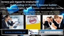 Special CV package deal 971504968788 Quality crafted and formatted CV Writing in UAE, GCC
