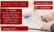 0508200128 Achieving positive perspective on CV Writing in UAE (Dubai, Abu Dhabi, Sharjah)