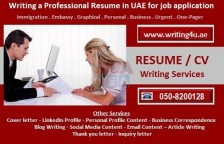 Expert CV advice 0508200128 CV Writing help in Abu Dhabi, UAE for job hunting