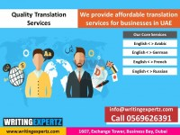 We provide Eng to Arabic Content Translation in Dubai 0569626391 WRITINGEXPERTZ.COM