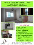 Lovely huge 1Bedroom apartment for rent