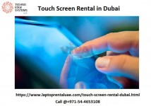 The best Interactive touch screen rental Services in Dubai. Call today @ 971-54-4653108  for your meetings , s