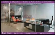Shower Partitions, office partition, Fit Out projects