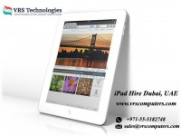 Leasing iPads for Events from VRS Technologies in Dubai