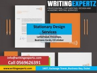 Call 0569626391 Office Stationery Designing - Graphic Designing Dubai, UAE Lowest Prices!