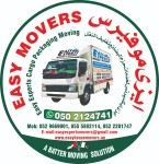 EASY HOUSE MOVERS AND FURNITURE PACKING STORAGE 0529669001 COMPANY ABU DHABI