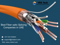 Complete Fiber Optic Cabling installation Services From VRS Tech UAE