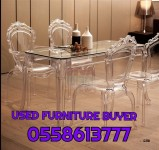 0558613777 WE BUY USE FURNITURE