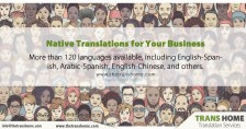Professional Translation Services from TRANSHOME