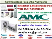 All kind of Air Conditioning Maintenance, Repairing & Cleaning Works