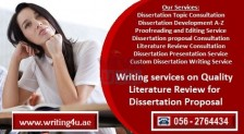 0562764434 Quality Literature Review for Dissertation Proposal in Dubai, UAE