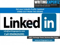 0569626391 LinkedIn Profile Writers and Graphical CV Writers in UAE