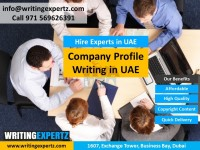 Brand Profile writing plus Design Services with Dubai Call 0569626391 Call Today
