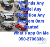 CARS WANTED-055 686 3133-USED DAMAGE SCRAP JUNKS ANY MODEL ALL