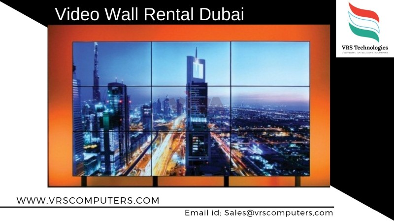LED Video Wall Hire VRS Technologies in Dubai UAE
