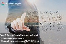 Indoor or Outdoor Touch Screen Rentals for Events in Dubai