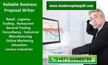 971504968788 Reliable Business Proposal Writer in Sharjah, UAE