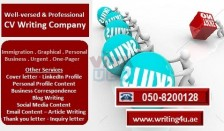 0508200128 Well-versed and Professional CV Writing Company in Ajman, UAE