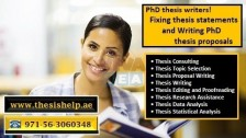0563060348  Writing PhD Thesis Proposals Help in UAE
