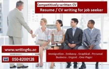 Competitively-written CV Writing for Job Seeker in UAE