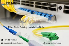 Fiber Optic Splicing company in Dubai | Advanced Fiber Optic Cabling