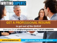 0569626391 Top Rated CV writers / Professional CV by WRITINGEXPERTZ.COM in Dubai