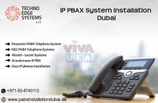 IP PABX Systems Dubai | Cisco, Panasonic, LG Ericsson.