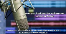 Are you looking for voice-over artist in Dubai