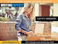 WRITINGEXPERTZ.COM – IB TOK and Extended Essay Guidance Call 0569626391