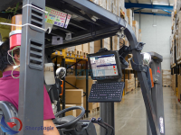 How forklift cameras help to avert forklift accidents