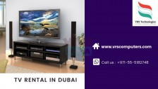 LED TV Rentals at VRS Technologies in Dubai