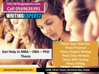 0569626391 Dissertation writing help in UAE and gulf for MBA - WritingExpertz