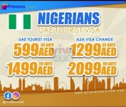 UAE visa services for nigerian nationality