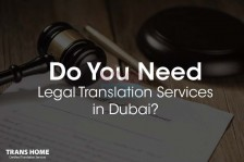 In need of legal translation services today? Transhome got you covered!