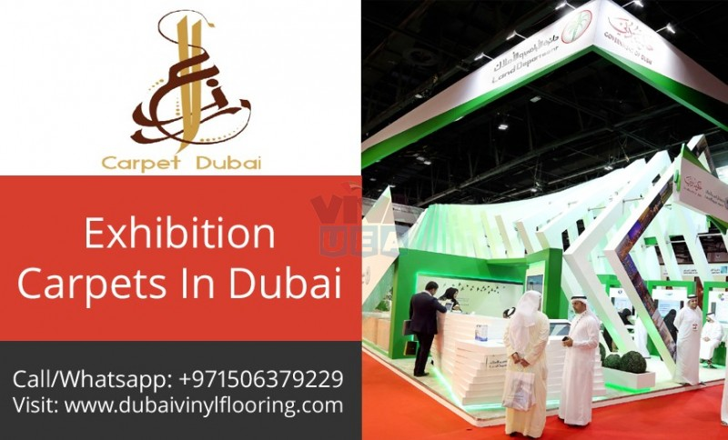 Exhibition carpets at Affordable price by Carpet Dubai