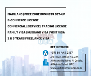 Business Setup - Consultancy Services in UAE - Dial #00971544472157