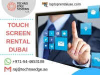 Latest Touch Screen Rentals Help With Brand Promotion