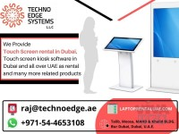 When you Hiring an Interactive Touch Screen Rental Dubai