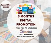 Free 3 Months Best Digital Marketing with Best Website in dubai for one year