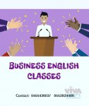 Business English training in vibe Education