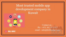 Best Mobile App development companies in Kuwait