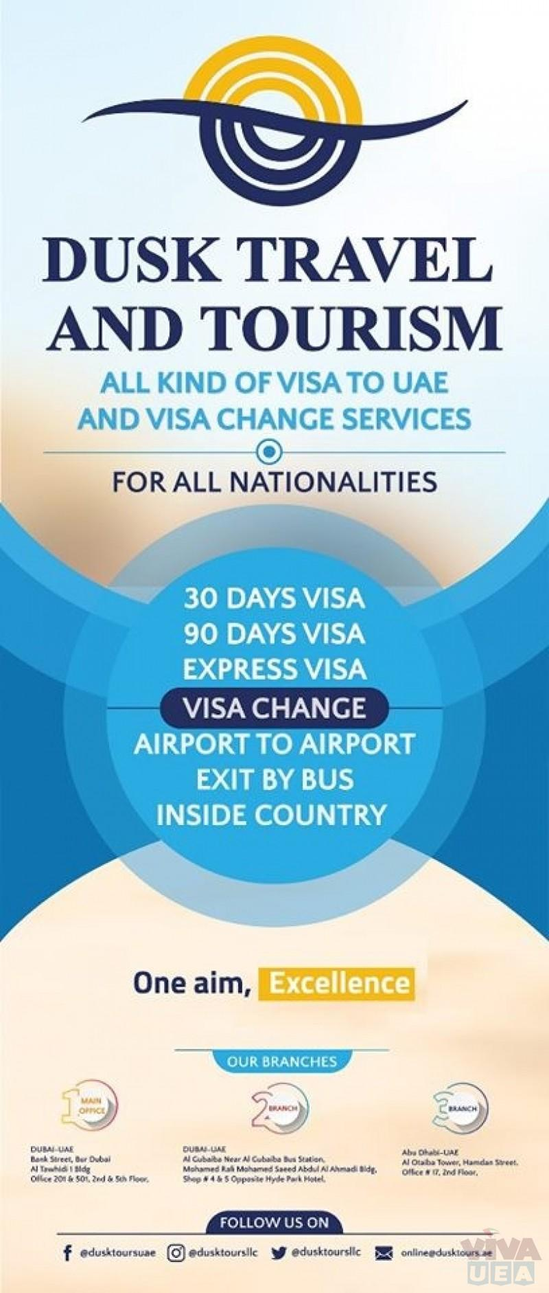 UAE Tourist Visa Services