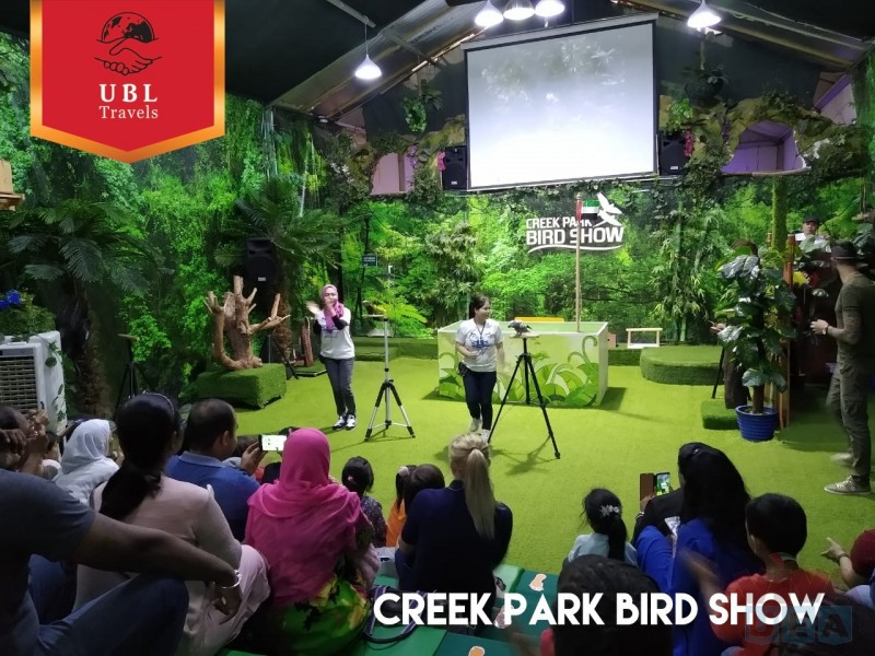 Exotic Bird Show - Creek Park, Just enjoy with UBL Travels