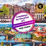 European Delight Holiday Land Package in Dubai